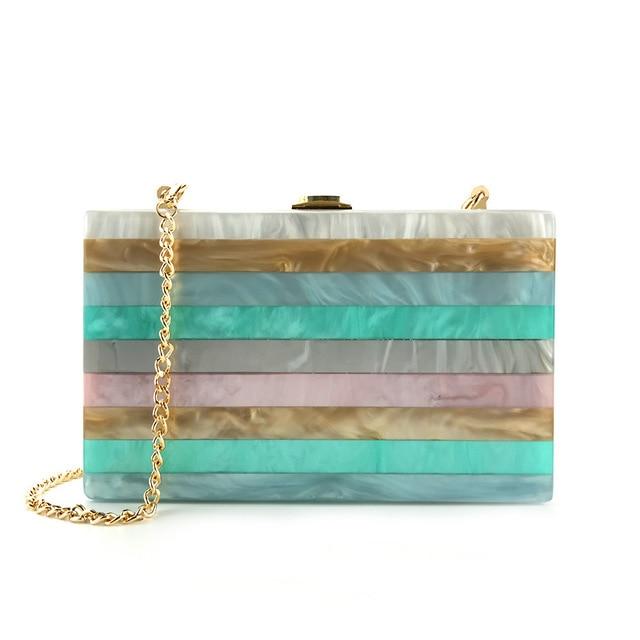 2018 Acrylic Clutch Bag Bolsa Feminina Luxury Handbags Women Crossbody Bags For Designer Bolsos Mujer Sac A Main Drop Shipping 4