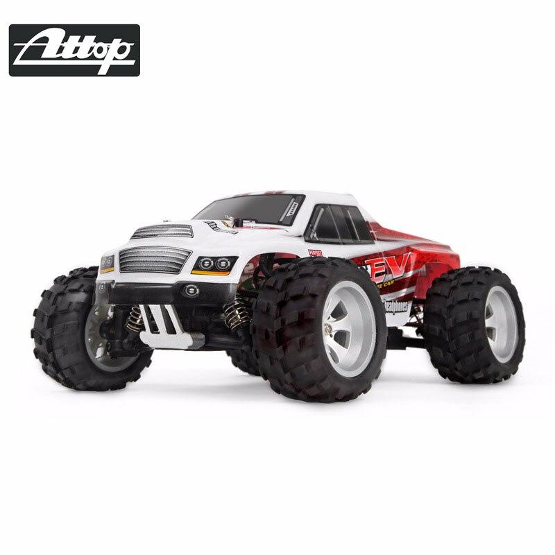 ATTOP RC voitures 2.4 GHz 1:18 RC voiture RTR amortisseur haute vitesse tout-terrain course véhicule Buggy électronique télécommande voitures jouet