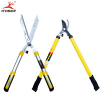 Pruning Shears Large Garden Scissors Manganese Steel For Trim Herb Hedge Tree Borders Bushes Pruning Tools Heavy Duty