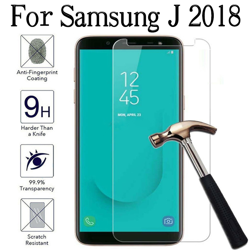 Protect Glass On For Samsung Galaxy J2 J3 J4 J6 J7 J8 2018 J 2 4 6 8J Protective Screen Protector Protection Film Tempered Glas
