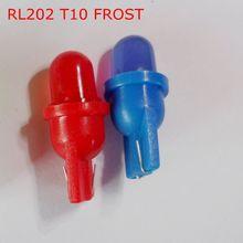 Frete grátis ( 50 peças/lote ) 6 V T10 LED fosco trabalho lâmpadas LED lâmpadas de Interior instrumento RL202
