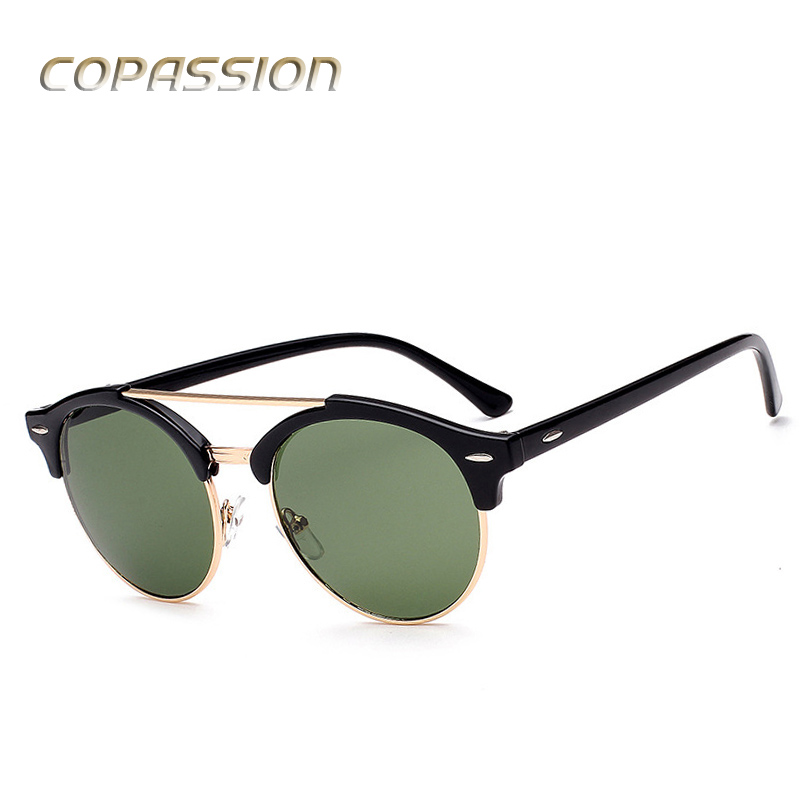 Round Polarized sunglasses women 2017 New erika men women sunglass Fashion club Brand Sun glasses oculos de sol with Accessories