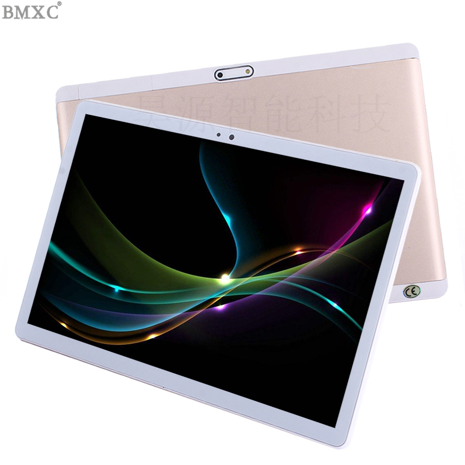 2018 original Brand tablet 4G LTE 10 inch Octa/10 Core 3G Phone Call tablets 4GB RAM 2.5D Glass Touch Screen 1920*1200 Android 7 цена