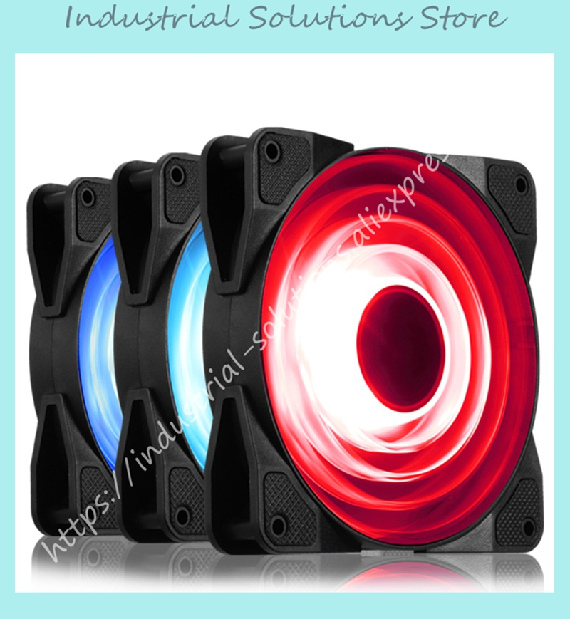 FR-531 chassis fan RGB variable color LED fan with controller, controllable speed New from Jonsbo alseye rgb led fan controller rgb led case fan and rgb strips radio frequency controller with touch remote control