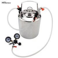 2.5 gallon Cornelius Stainless steel 10L beer keg & Faucet Tubing Kit & Co2 Beer Regulator kit Beer brewing