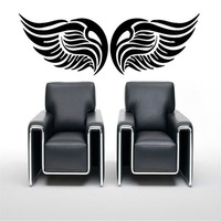 Wall Stickers Vinyl Decal Symbols Wings Flying Speed Wall Decor Mural