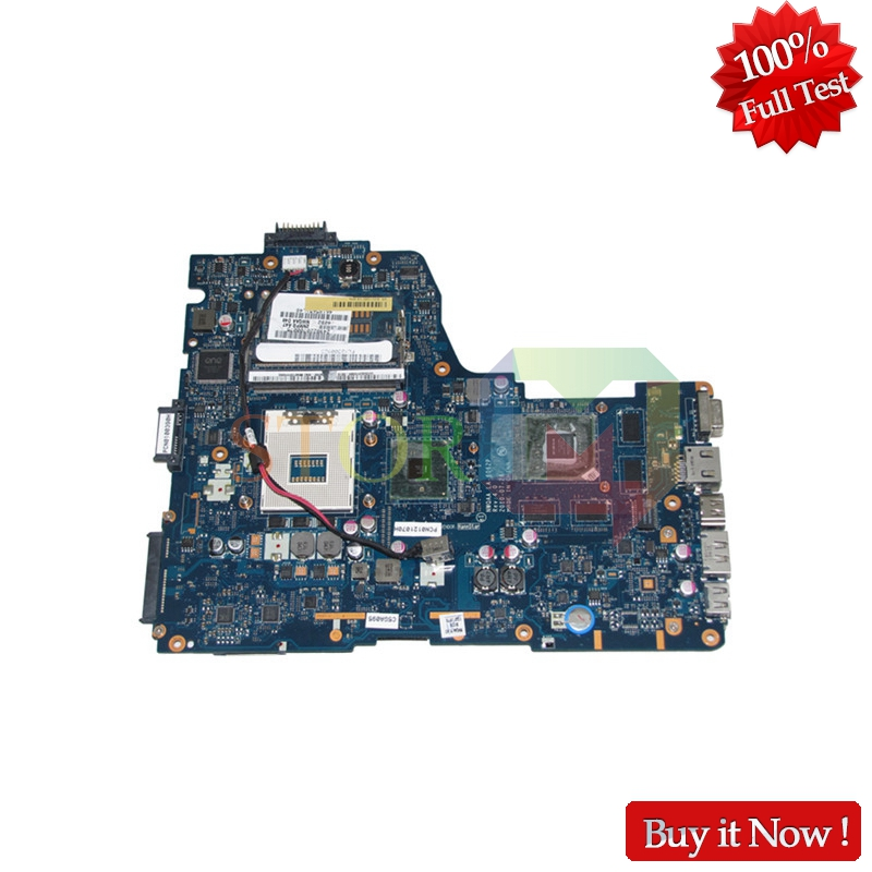 NOKOTION For Toshiba Satellite A665 A665-3D Laptop Motherboard K000112450 NWQAA LA-6062P HM55 GT350M DDR3 Free CPU nokotion laptop motherboard for toshiba satellite a660 a665 nwqaa la 6062p k000109850 hm55 gt310m graphics ddr3 main board works