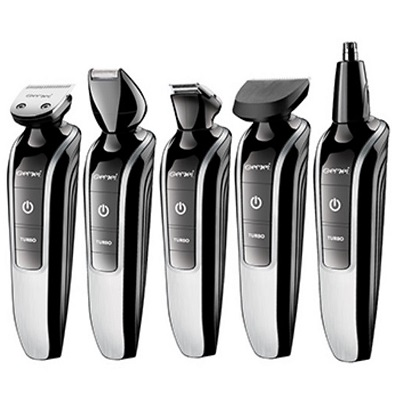 7in1 washable electric hair trimmer beard trimer hair clipper stubble shaver mustache shaper hair cutting machine haircut-in Hair Trimmers from Home Appliances
