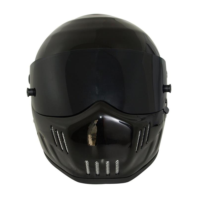 ATV грязи велосипед анфас прохладный черный Мотокросс шлем спуске шлемы мотоцикла высокого качества