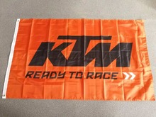 Collection 90*150cm ktm racing flag for decoration