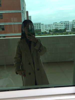 Spring And Autumn Women Fashion Brand Korea Style Waist Belt Loose Khaki Color Trench Female Casual Elegant Soft Long Coat Cloth 65
