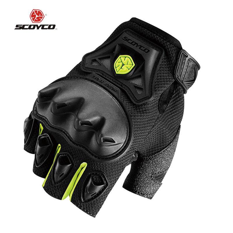 SCOYCO new Motorcycle gloves half finger Racing motocross motorbike guantes moto gloves Men Dirt luva motociclista para eldiven