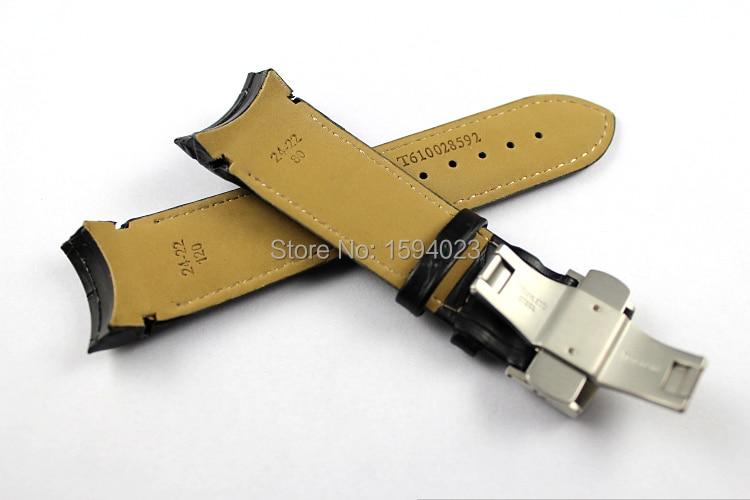 24 mm (hebilla 22 mm) T035627 T035614A Hebilla de mariposa de plata - Accesorios para relojes - foto 2