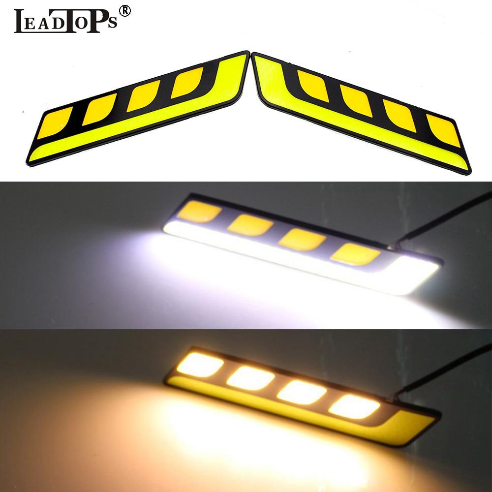 2 հատ հատ Drl շրջադարձային լույս Նոր - Ավտոմեքենայի լույսեր - Լուսանկար 3