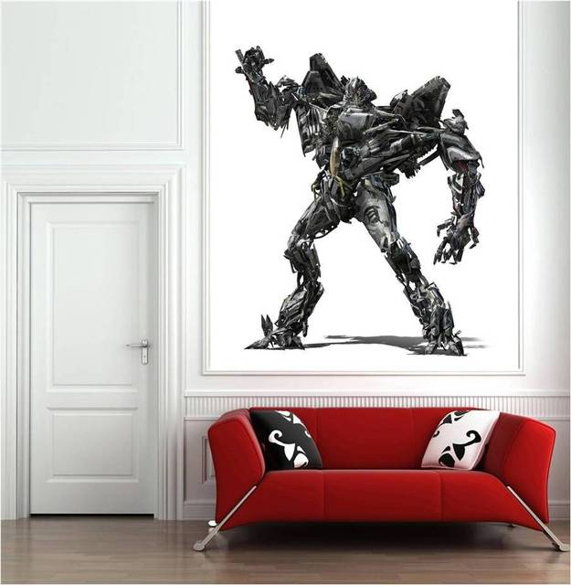 Transformers Wall Decal Stickers On The Wall Home Decor 27 55x24inch