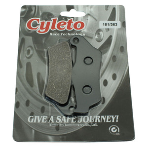 Cyleto мотоциклетные задние тормозные колодки для BMW R1100S 96-11 R 1100 RT R1100RT 94-01 R1150GS R1150 GS 2001-2003/2011 R1150R 2001-2006