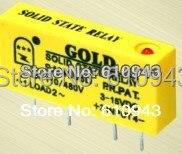 SAI4003D DC para AC 3A SSR entrada 3-15 v ou 15-28 v saída 40-480 V Freeshipping PCB pequeno relé de estado sólido single-in-line