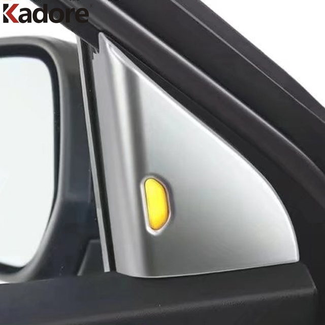 For Nissan Kicks 2017 2018 ABS Matte Front Door Interior Triangle Cover Trim Window A Pillar & For Nissan Kicks 2017 2018 ABS Matte Front Door Interior Triangle ...