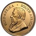 2010 krugerrand 1 troy Oz. coin placcato 1.5 grammi. 999 multa oro