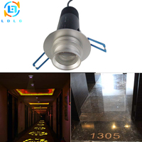 Rustproof Indoor 10W LED Projector Light Custom Slide LED Lamp Advertising Company Logo 10W Gobo Projector Light Indoor 1200lm