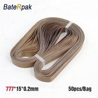 777*15*0.2mm BateRpak Band sealer teflon belt,P.T.F.E Resin seamless ring tape(Glass cloth impregnated with P.T.F.E) 50pcs/bag