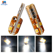 10pcs 12V White T10 Canbus 2835 8 SMD Led Bulbs Error Free Car Door Lights Luggage Compartment Clearance Lights Free Shipping free shipping 10pcs smd foot hcpl3101 a3101