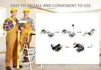 10 шт. как светодиодный кабинета шарнира свет универсальный кухня спальня гостиная шкаф 0, 25 вт внутренняя сенсор свет аппаратных