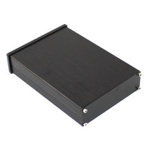 KYYSLB Black front panel WA42 Full aluminum digital amplifier chassis amplifier DAC Decoder Amplifier case