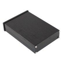 KYYSLB แผงด้านหน้าสีดำ WA42 อลูมิเนียมเครื่องขยายเสียงดิจิตอลแชสซี dac Decoder เครื่องขยายเสียงกรณี