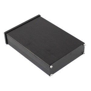 Image 1 - Kyyslb preto painel frontal wa42 completa de alumínio digital amplificador chassi dac decodificador amplificador caso