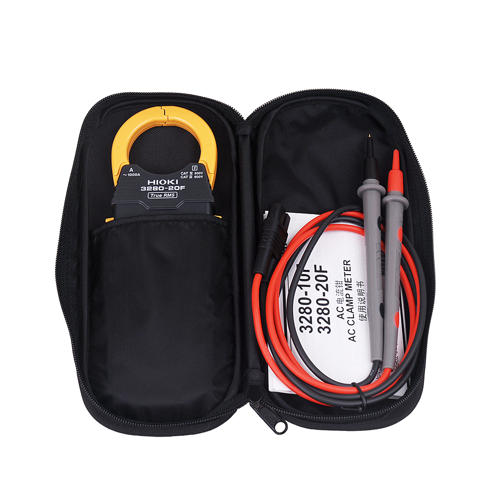 Hioki 3280 20F Rectifying 42A to 1000A AC Clamp Meter on HiTESTER True RMS Temperature Test