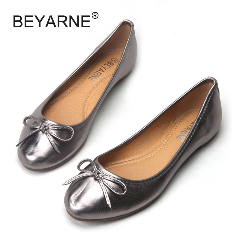 Bowtie Slip-on Women Flats Concise Round Toe Shallow Mouth Ballet Flats For Women Ladies Casual Ballerinas Flats Shoes Woman цена и фото