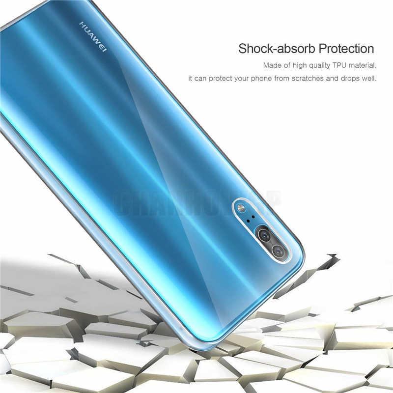 Полное покрытие двойной силиконовый чехол для huawei P30 Pro P20 Lite Y6 Y7 Pro P Smart 2019 честь 8A 8C 8X 7A Pro Y5 Y6 премьер Y9 2018