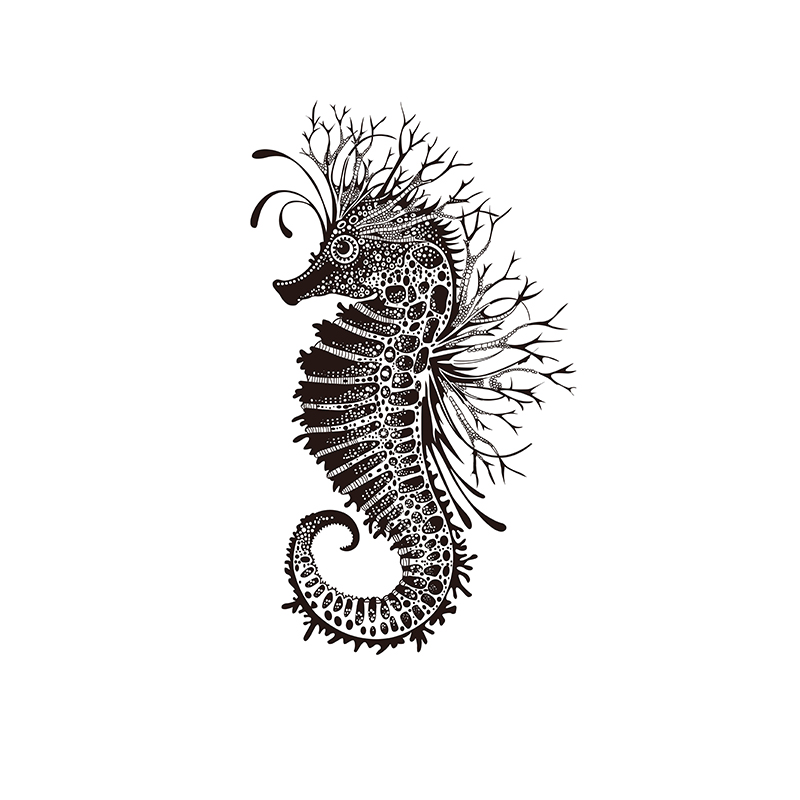Seahorse Clear Stamp For Scrapbooking Transparent Silicone Rubber DIY Photo Album Decor