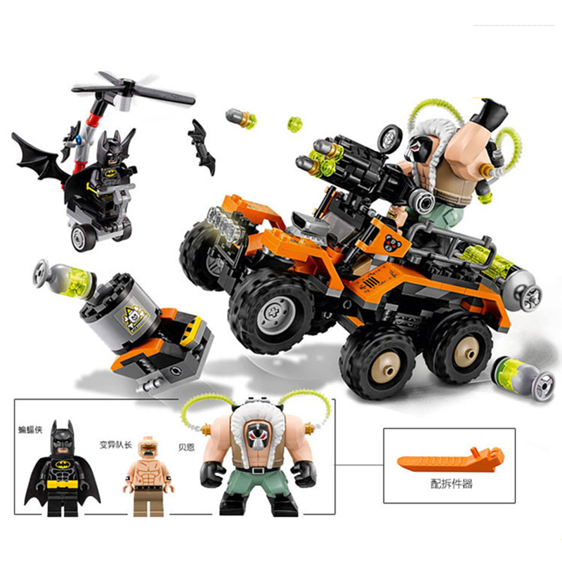 2018 New Batman Movie Series Building Blocks Bane's Poisonous Truck Attack Compatibility With Legoingly