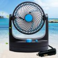12V Mini Rotating Powered Strong Wind Car Vehicle Cooling Air Fan Portable Car Fans