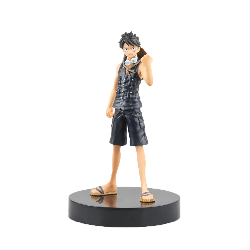 Chanycore Anime ONE PIECE Scultures DXF New World Luffy Gold 18cm Action Figures PVC onepiece toys doll model collection