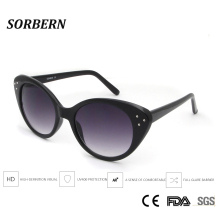 SORBERN New 2019 Cat Eye Sunglasses Red Retro Sexy Style Brand Design Ladies Fashion Frame Sun Glasses UV400 Goggles Gafas
