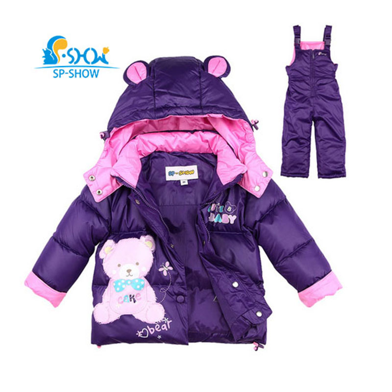 SP-SHOW Winter autumn Children's Outwear Hooded Jacket Boy And Girl Coats Boy Girl Clothing Sets Down And Parkas For1-4 Age 0175 велосипед pegasus avanti sport girl 7 sp 24 2016