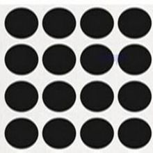 Wootile pvc Round mini 320pcs peel and stick adhesive Chalkboard Labels DIY Stationery vinyl Sticker for home organization decor