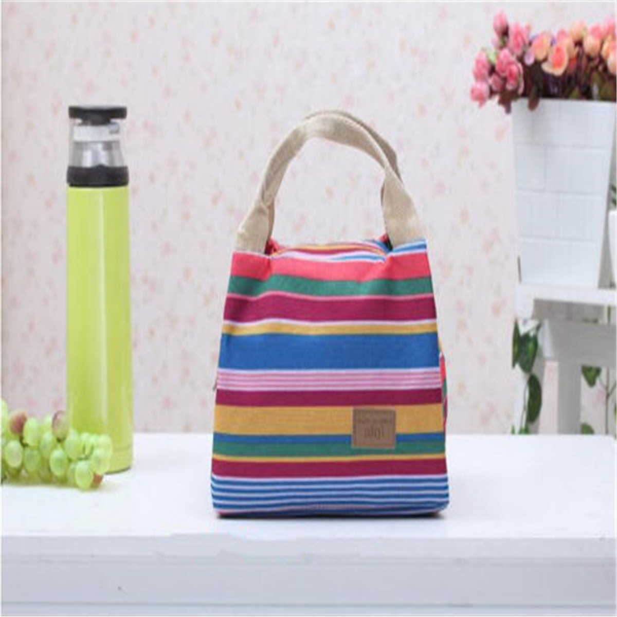 2018 New Style Fashion Lunch Bag Insulated Cooler Picnic Storage Box For Work Men Or Women Kids School