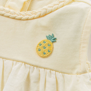 Image 5 - DBZ10529 dave bella summer baby girl clothes infant toddler sleeveless T shirt children boutique tops kids lolita tees