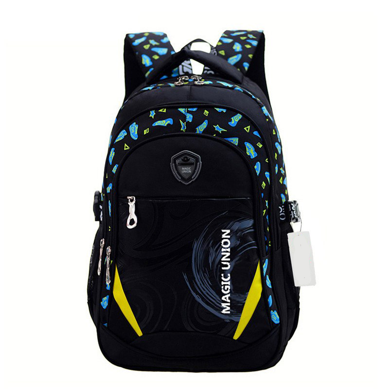 Child Backpack Bags School-Design Girl Boys in for And Brand Infantil Zip Printing
