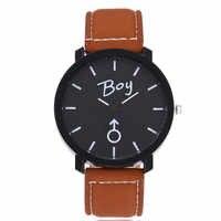 DIY Neu Gestalteten Herren Einfache Art Und Weise Quarz-armbanduhr Geliebte Uhr Dropship Y117