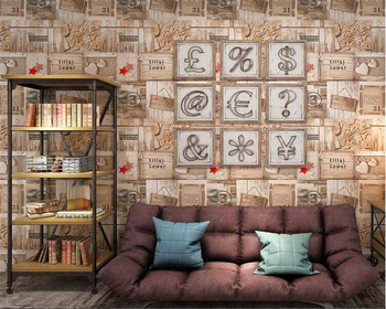 Beibehang American Style Retro Wood Pvc 3d Wallpaper Mediterranean Coffee Shop Internet Cafe Background Living Room Wall Paper Buy At The Price Of 33 75 In Aliexpress Com Imall Com