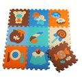 Mat/tapete/tapete Do Bebê proteção ambiental insípido EVA esteira do Enigma dos desenhos animados dormir Mat/32*32 cm frete grátis