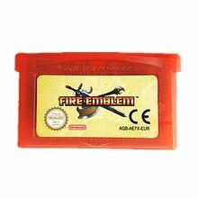 Nintendo GBA Game Fire Emblem Cartucho de Consola de Videojuegos Tarjeta EU Idioma Inglés