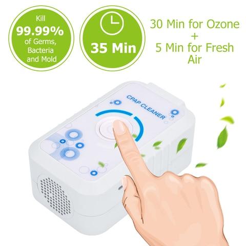 fda aprovou 2200mah cpap sanitizer esterilizador cleaner respirador purificador de ar desinfeccao desinfeccao de apneia
