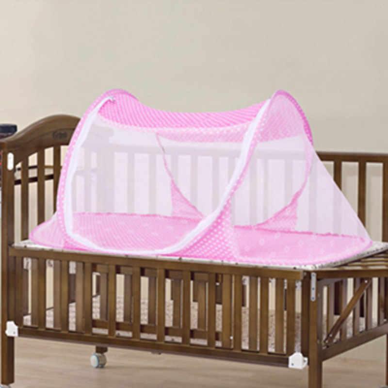 ALWAYSME портативная детская кроватка для путешествий Складная детская кровать с противомоскитной сеткой сетка Игровая палатка дом ребенок сетка от комаров для детской кроватки палатка для колыбели кровать