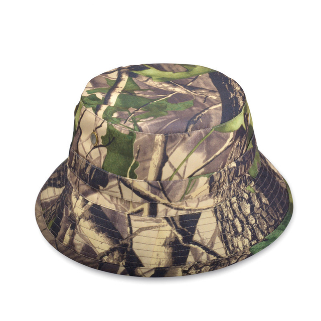 Fashion Unisex Men Women Summer Spring Camo Printed Camouflage Hats Outdoor  Field Camping Climbing Desert Jungle Dad Bucket Hat c283c1115